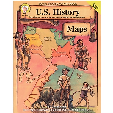 eBook: Mark Twain 1336-EB U.S. History Maps, Grade 5 - 8