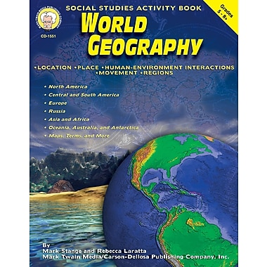 eBook: Mark Twain 1551-EB World Geography, Grade 5 - 8