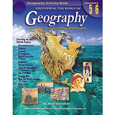 eBook: Mark Twain 1574-EB Discovering the World of Geography, Grade 5 - 6