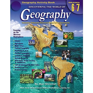 eBook: Mark Twain 1575-EB Discovering the World of Geography, Grade 6 - 7