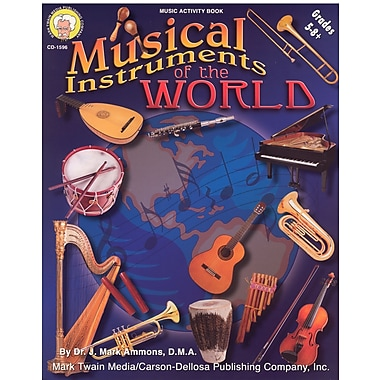 eBook: Mark Twain 1596-EB Musical Instruments of the World, Grade 5 - 8