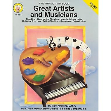 Livre numérique : Mark Twain 1891-EB Great Artists and Musicians, 5e - 8e année