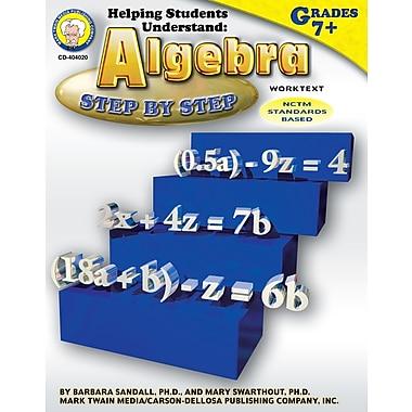 eBook: Mark Twain 404020-EB Helping Students Understand Algebra, Grade 7 - 8