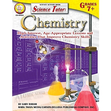 eBook: Mark Twain 404025-EB Science Tutor: Chemistry, Grade 7 - 8