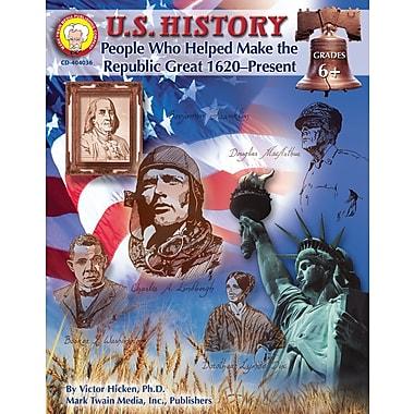 eBook: Mark Twain 404036-EB U.S. History, Grade 6 - 8