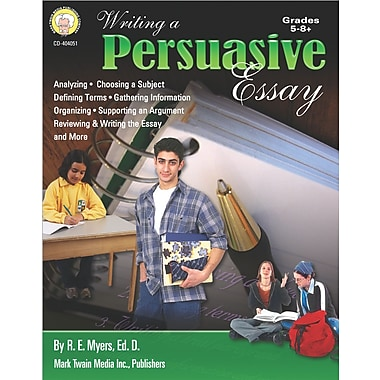 eBook: Mark Twain 404051-EB Writing a Persuasive Essay, Grade 5 - 8