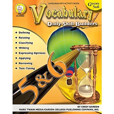 eBook: Mark Twain 404069-EB Vocabulary, Grade 5 - 6
