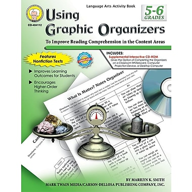 eBook: Mark Twain 404112-EB Using Graphic Organizers, Grade 5 - 6