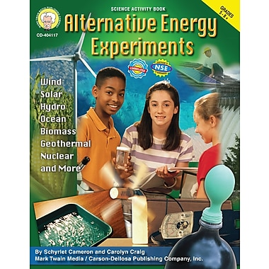 eBook: Mark Twain 404117-EB Alternative Energy Experiments, Grade 5 - 8