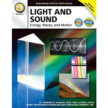 eBook: Mark Twain 404121-EB Light and Sound, Grade 6 - 12