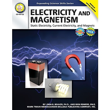 eBook: Mark Twain 404122-EB Electricity and Magnetism, Grade 6 - 12