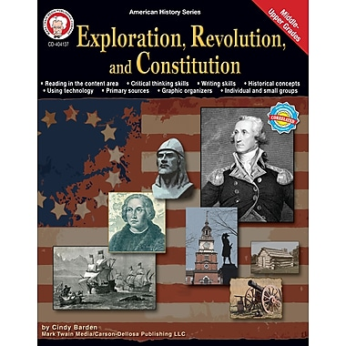 eBook: Mark Twain 404137-EB Exploration, Revolution, and Constitution, Grade 6 - 12
