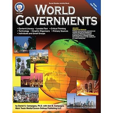 Livre numérique: Mark Twain « World Governments », 11 à 18 ans, 404150-EB
