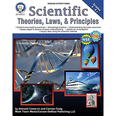Livre numérique: Mark Twain « Scientific Theories, Laws, and Principles », 10 à 14 ans, 404151-EB