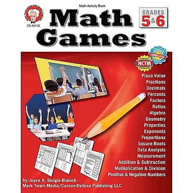 Livre numérique : Mark Twain – Math Games 404152-EB