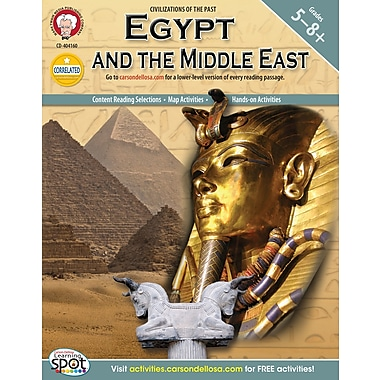 eBook: Mark Twain 404160-EB Egypt and the Middle East, Grade 5 - 8