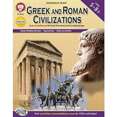 eBook: Mark Twain 404161-EB Greek and Roman Civilizations, Grade 5 - 8