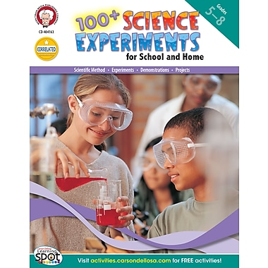 eBook: Mark Twain 404163-EB 100+ Science Experiments for School and Home, Grade 5 - 8