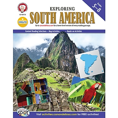 eBook: Mark Twain 404176-EB Exploring South America, Grade 5 - 8