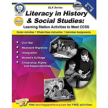 eBook: Mark Twain 404211-EB Literacy in History and Social Studies, Grade 6 - 8