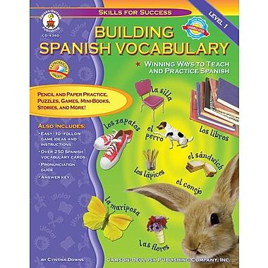 Livre numérique : Carson-Dellosa� -- Building Spanish Vocabulary 4340-EB, prématernelle à 12e année