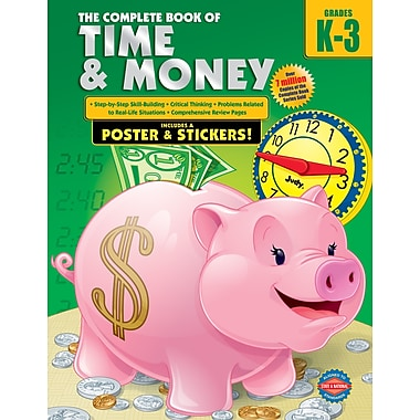 eBook: American Education Publishing 076968565X-EB The Complete Book of Time and Money, Grade K - 3