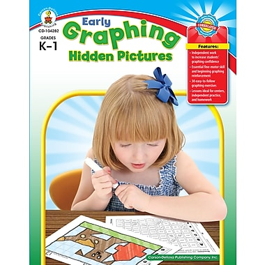 eBook: Carson-Dellosa 104282-EB Early Graphing Hidden Pictures, Grade K - 1