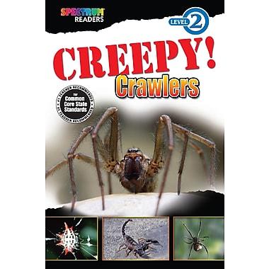 eBook: Spectrum 704333-EB Creepy! Crawlers, Grade K - 1