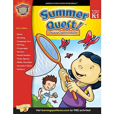 eBook: American Education Publishing 704355-EB Summer Quest™