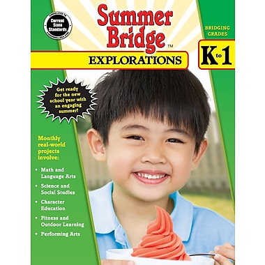 eBook: Summer Bridge Activities 704649-EB Summer Bridge Explorations, Grade K - 1