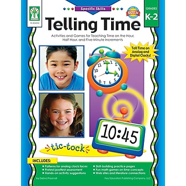 eBook: Key Education 804052-EB Telling Time, Grade K - 2
