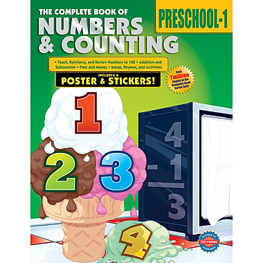 eBook: American Education Publishing 0769685633-EB The Complete Book of Numbers & Counting, Grade Preschool - 1