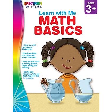 Livre numérique : Spectrum 104443-EB Math Basics, préscolaire à maternelle