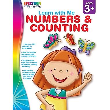 eBook: Spectrum 104444-EB Numbers & Counting, Grade Preschool - K