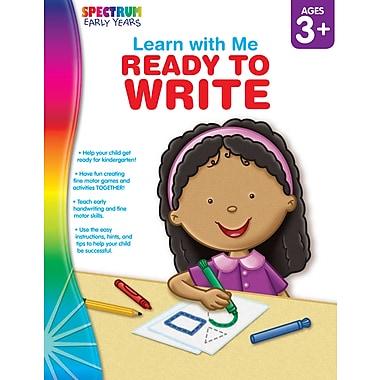 Livre numérique : Spectrum 104445-EB Ready to Write, préscolaire à maternelle