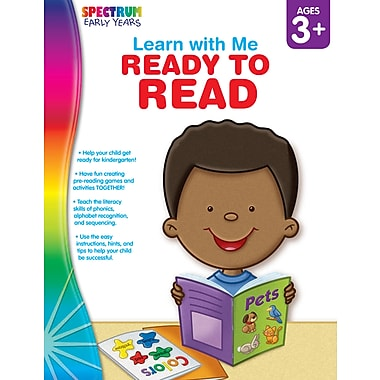 eBook: Spectrum 104446-EB Ready to Read, Grade Preschool - K