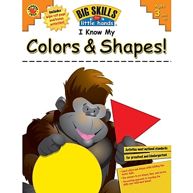 eBook: Brighter Child 704111-EB I Know My Colors & Shapes!, Grade Preschool - K