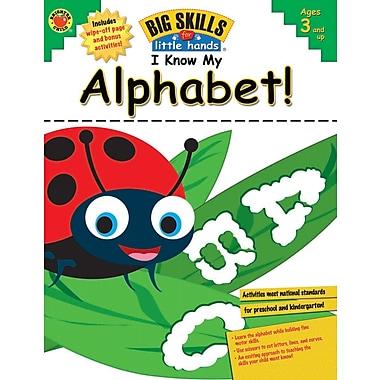 eBook: Brighter Child 704112-EB I Know My Alphabet!, Grade Preschool - K