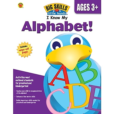eBook: Brighter Child 704120-EB I Know My Alphabet!, Grade Preschool - K