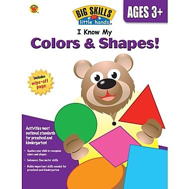 eBook: Brighter Child 704123-EB I Know My Colors & Shapes!, Grade Preschool - K
