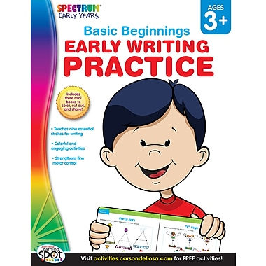 eBook: Spectrum 704167-EB Early Writing Practice, Grade Preschool - K