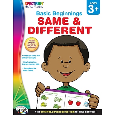 eBook: Spectrum 704169-EB Same & Different, Grade Preschool - K