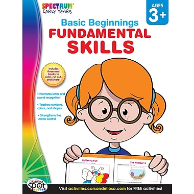 eBook: Spectrum 704172-EB Fundamental Skills, Grade Preschool - K