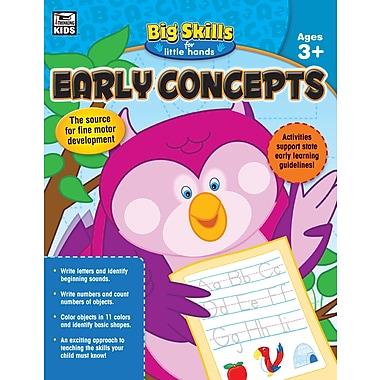 Carson-Dellosa 704915-EB Early Concepts, classe préscolaire - maternelle