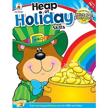 Livre numérique : Carson-Dellosa� -- Heap of Holiday Skills 104780-EB, prématernelle à 1re année