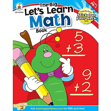 eBook: Carson-Dellosa 104783-EB The Big Let's Learn Math Book, Grade PK - 1