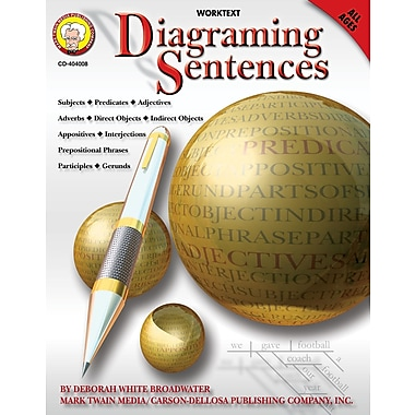 eBook: Mark Twain 404008-EB Diagraming Sentences, Grade PK - 8