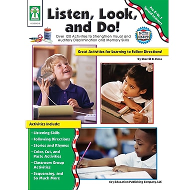 Livre numérique : Key Education� -- Listen, Look, and Do! 804018-EB, prématernelle à 1re année