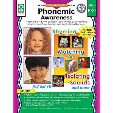 eBook: Key Education 804039-EB Phonemic Awareness, Grade PK - 1
