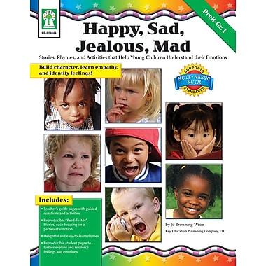 eBook: Key Education 804044-EB Happy, Sad, Jealous, Mad, Grade PK - 1